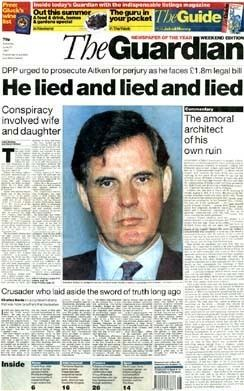 Jonathan Aitken Special report the Aitken case Special reports guardiancouk