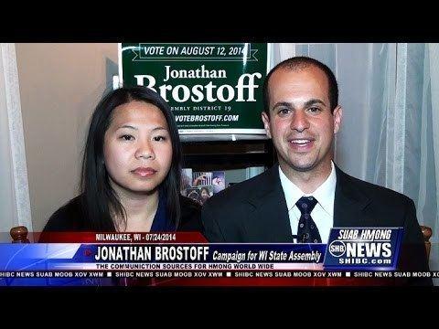 Jonathan Brostoff Suab Hmong News Jonathan Brostoff for Wisconsin State Assembly