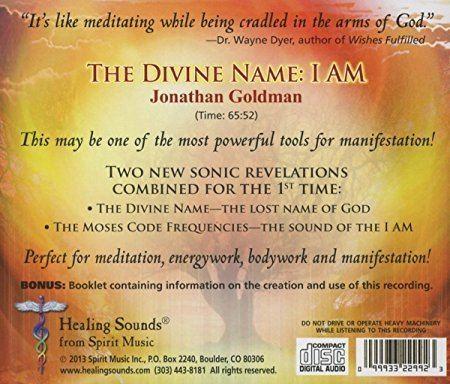 Jonathan Goldman Jonathan Goldman Divine Name I Am Amazoncom Music