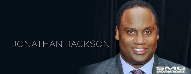Jonathan Jackson (activist) Jonathan Jackson SMG Talk Signature Media Group Speakers