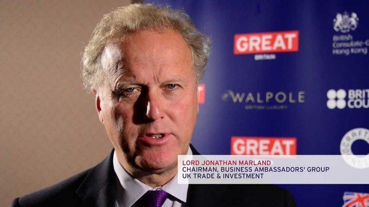 Jonathan Marland, Baron Marland The GREAT Week of Creativity Hong Kong Interview with Lord
