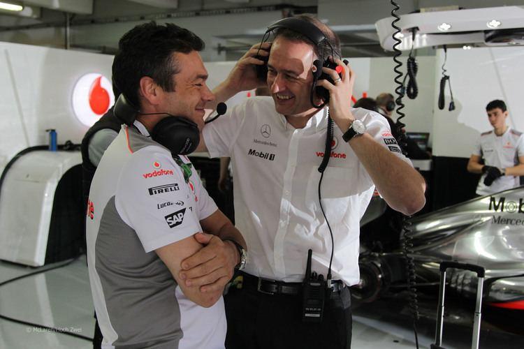 Jonathan Neale Jonathan Neale McLaren 2012 F1 Fanatic