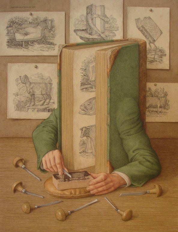 Jonathan Wolstenholme Playful Books with Arms Spring to Life My Modern Met