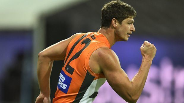 Jonathon Patton GWS Giants forward Jonathon Patton emerges as AFL star against
