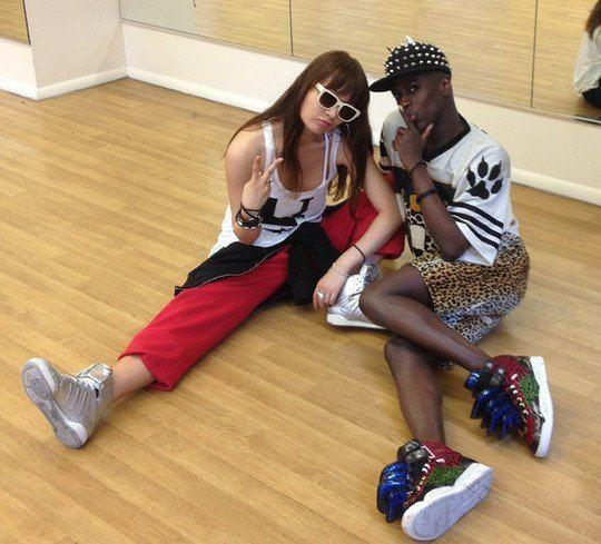 Jonte' Moaning Tara works with quotSingle Ladiesquot choreographer Jonte Moaning CCM