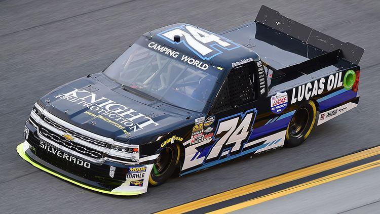 Jordan Anderson (racing driver) Camping World Truck Series update Jordan Anderson builds his career