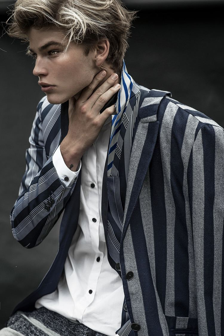 Jordan Barrett IMG Models Jordan Barrett Shine By Three