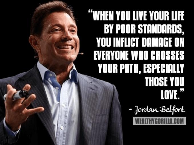 Jordan Belfort Jordan Belfort Inspirational Quote motivation Pinterest