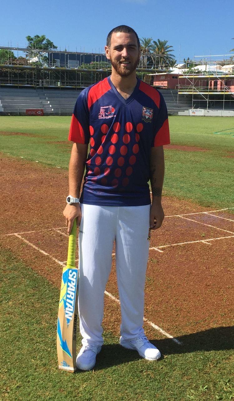 Jordan DeSilva Jordan DeSilva SCC Cup Match Captain 2016 Somerset Cricket Club