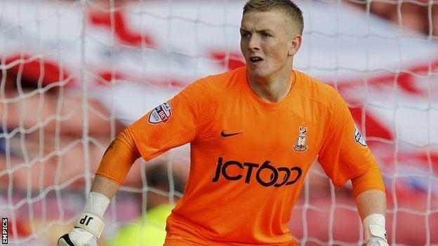 Jordan Pickford BBC Sport Sunderland recall keeper Jordan Pickford from