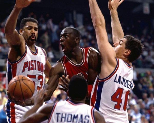 Jordan Rules Basketball Nerd TV Watch The Pistons39 Jordan Rules At Work