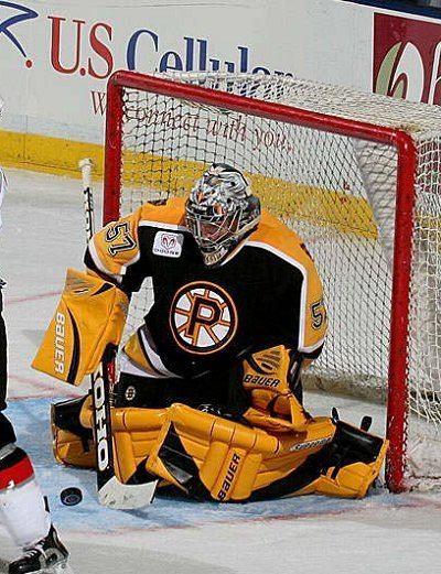 Jordan Sigalet Providence Bruins goaltending history Jordan Sigalet