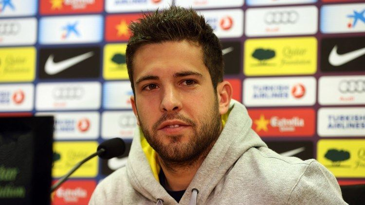Jordi Alba FC Barcelona Jordi Alba looking for the same intensity