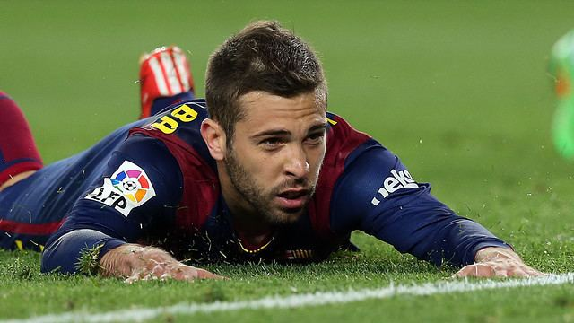Jordi Alba Jordi Alba out for ten days FC Barcelona