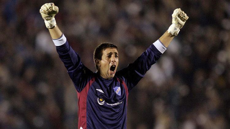 Jorge Bava Fire sign Uruguayan goalkeeper Jorge Bava CSN Chicago