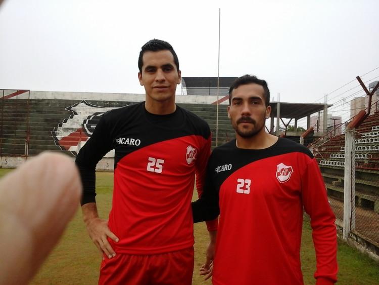 Jorge De Olivera Club Guaran Antonio Franco
