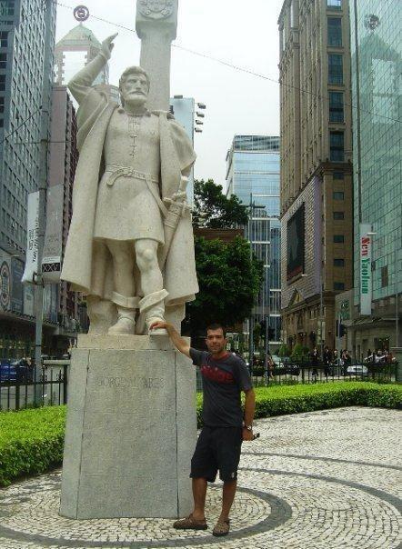 Jorge Álvares Macau Antigo Jorge lvares Maio de 1513