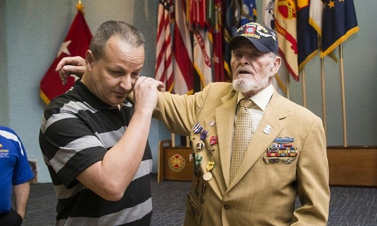 Jorge Otero Barreto Decorated Vietnam War Veteran Receives Honorable Award The
