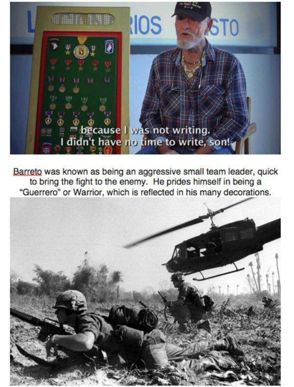Jorge Otero Barreto Photos and story of the real Rambo Jorge Otero Barreto theCHIVE