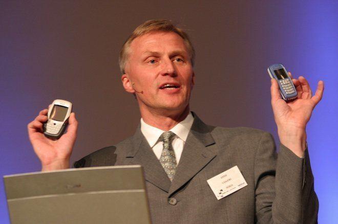 Jorma Ollila Nokia Chairman Jorma Ollila wanted Anssi Vanjoki to be CEO