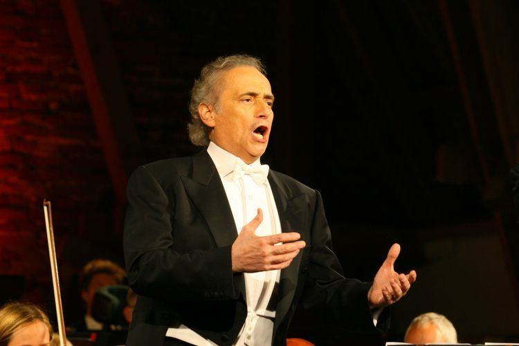 José Carreras Spanish tenor Jose Carreras in Cascais Local Cascaisltagt
