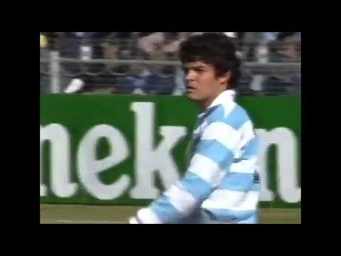 José Cilley Jos Cilley penalty from his own half vs Samoa 1995 YouTube