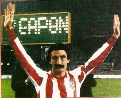 José Luis Capón Decada 1970 1971 a 1980 Atletico de Madrid