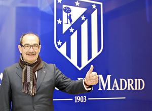 José Luis Capón Club Atltico de Madrid Web oficial Capn quotTuve la gran suerte
