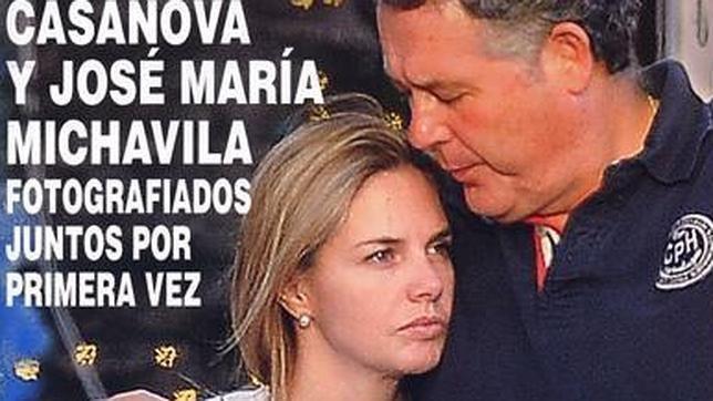 José María Michavila Genoveva Casanova y Jos Mara Michavila fotografiados juntos por