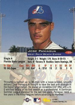 José Paniagua Jose Paniagua Gallery The Trading Card Database
