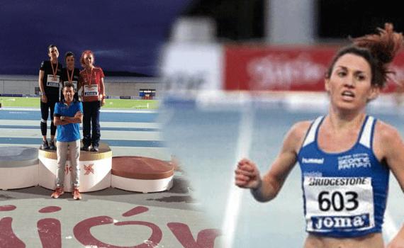 José Pérez (pentathlete) Maria Jos Prez campeona de 3000 metros obstculos Ozonoterapia y