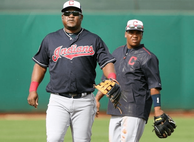José Ramírez (infielder) Mini Me39 and 39The Turkey39 The fatherson bond between Cleveland