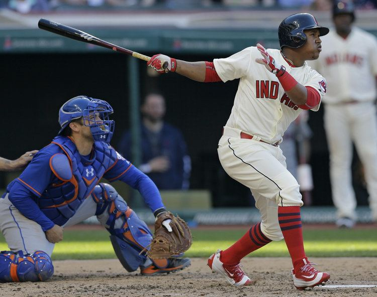 José Ramírez (infielder) Jose Ramirez awakens Cleveland Indians in 75 victory over New York