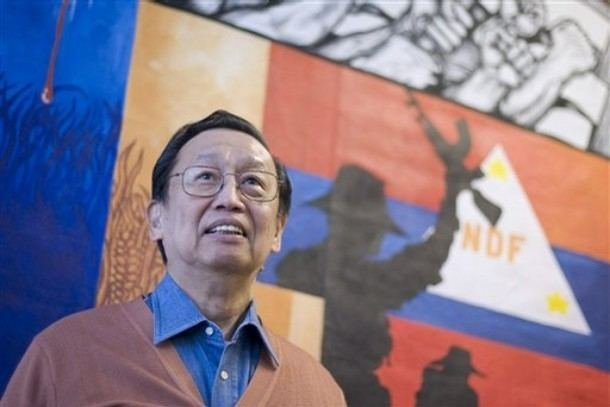 Jose Maria Sison Jose Maria Sison on the 45th founding anniversary of the