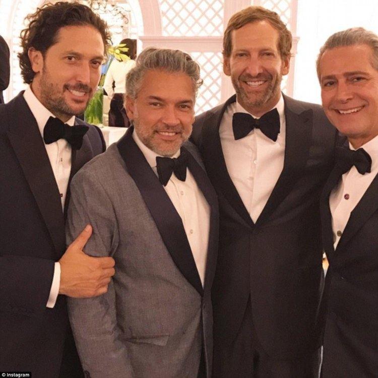 Jose Mugrabi Alberto Mugrabi marries Colby Jordan in French Riviera fete Daily