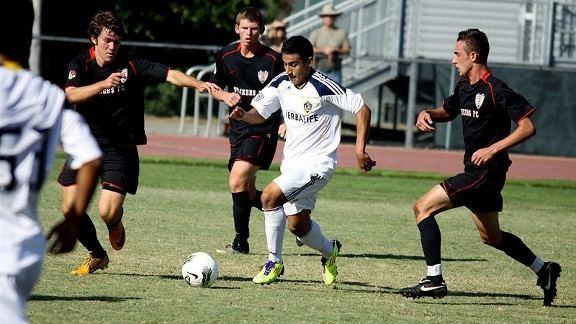 Jose Villarreal (soccer) December 2011 Los Angeles Soccer Blog ESPN Los Angeles