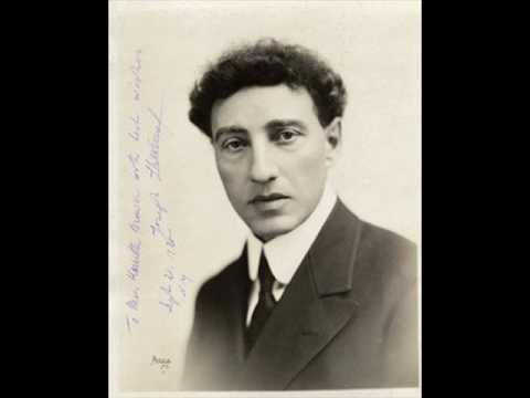 Josef Lhévinne Josef Lhevinne plays Chopin Prelude op28 no16 YouTube