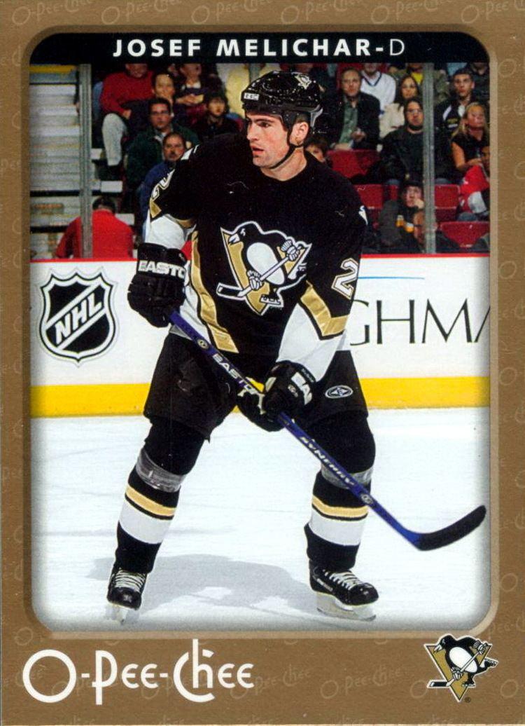 Josef Melichar Josef Melichar Players cards since 2000 2007 penguinshockey