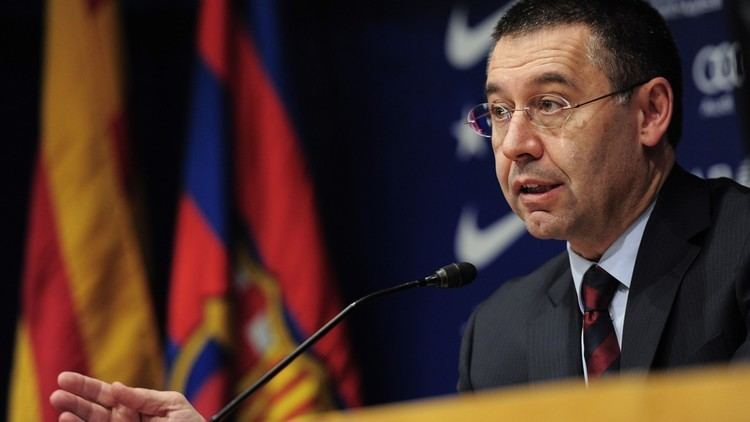 Josep Maria Bartomeu Bartomeu We are in the top of the table but this league