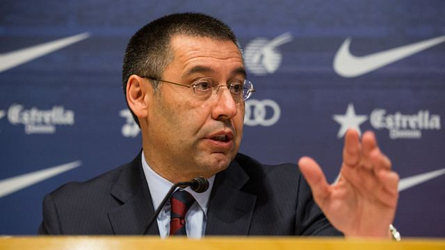 Josep Maria Bartomeu Josep Maria Bartomeu Messi is not for sale FC Barcelona