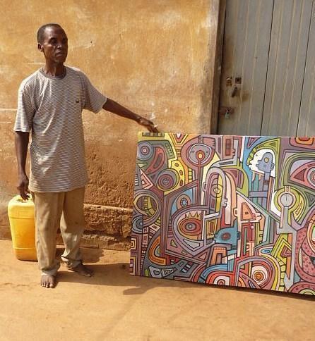Joseph Amedokpo GALERIE MRZ Ausstellungen Joseph Amedokpo