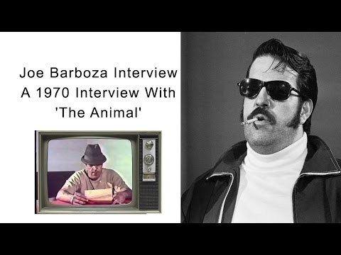 Joseph Barboza Joe Barboza A 1970 Interview With 39The Animal39 YouTube
