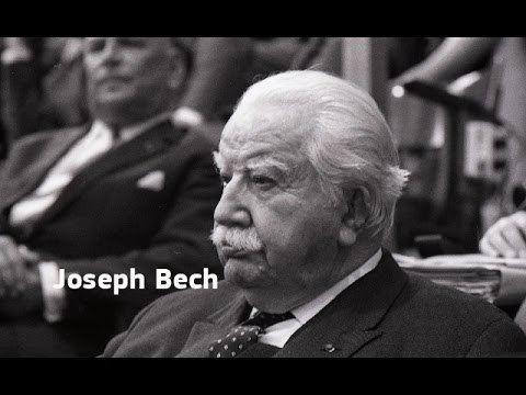 Joseph Bech Founding fathers of the European Union Joseph Bech YouTube