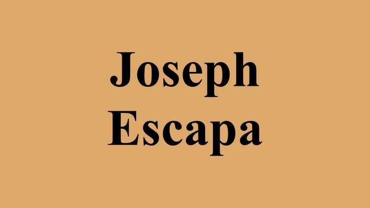 Joseph Escapa Joseph Escapa YouTube
