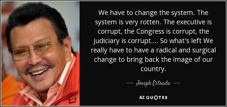 Joseph Estrada TOP 13 QUOTES BY JOSEPH ESTRADA AZ Quotes