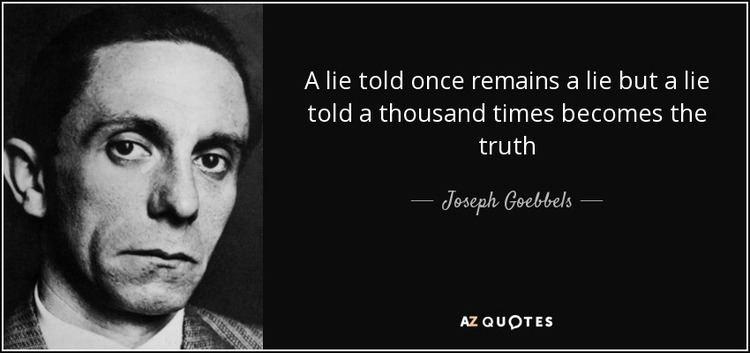 Joseph Goebbels TOP 25 QUOTES BY JOSEPH GOEBBELS of 107 AZ Quotes