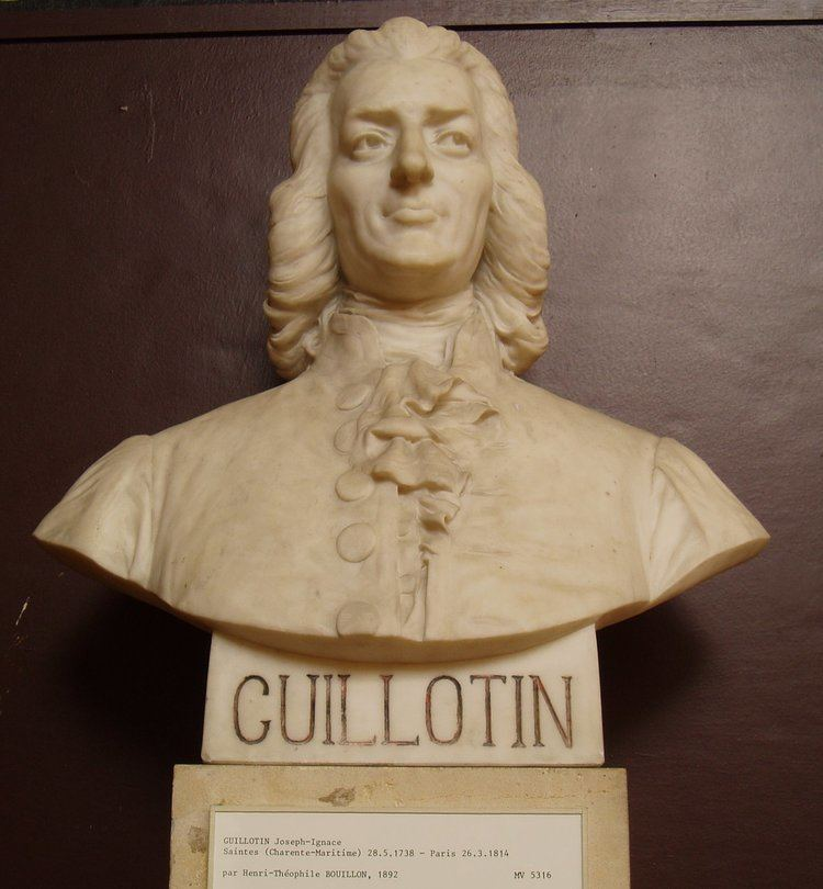 Joseph-Ignace Guillotin FileJoseph Ignace Guillotinjpg Wikimedia Commons