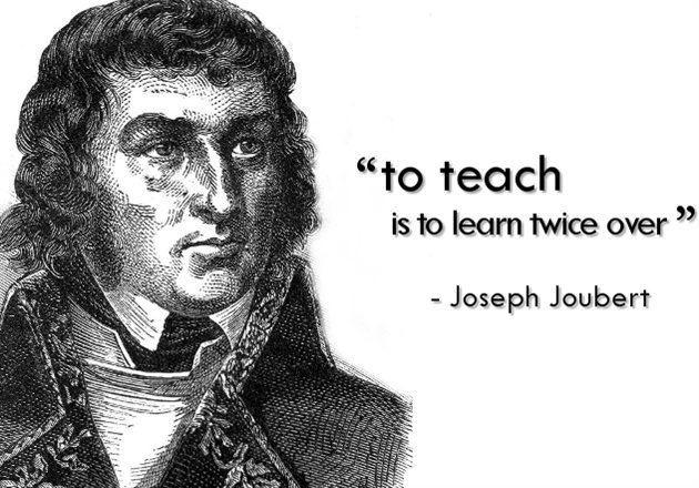 Joseph Joubert Be inspired 12 October 2012