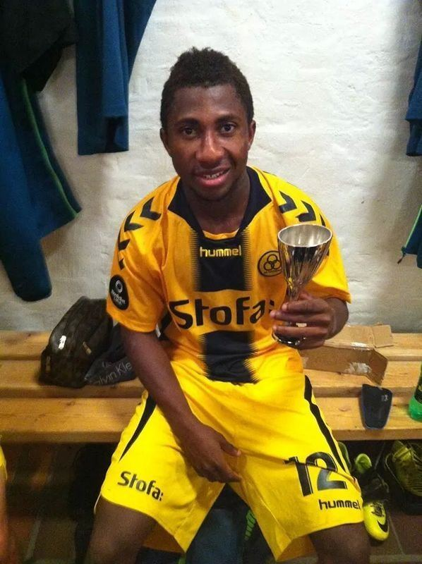 Joseph Mensah Ghanaian starlet Joseph Mensah wins man of the match in