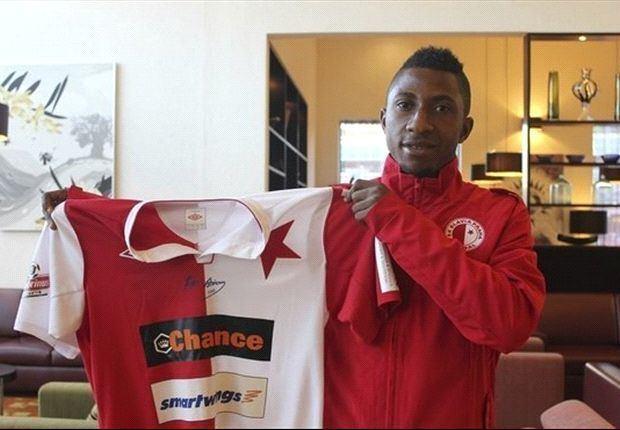 Joseph Mensah Liberty midfielder Joseph Mensah joins Slavia Prague